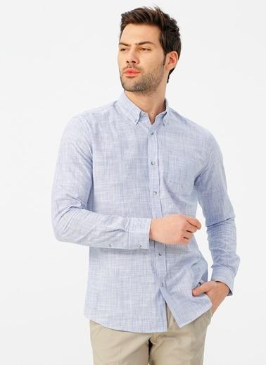Fabrika Comfort Gömlek Mavi